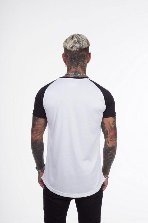 Xzeno White/ Black T-Shirt - Mybrands Store
