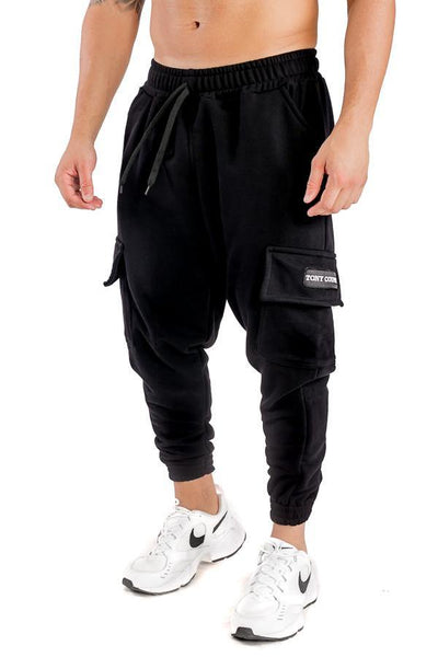 Tony Couper Cargo Joggers Black