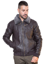 Biston Leather Jacket Bomber - Mybrands Store