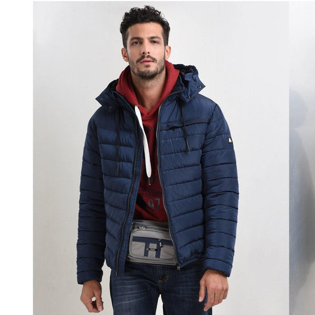 Biston Puffer Jacket Navy Blue - Mybrands Store