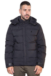 Splendid Short Puffer Jacket Black - Mybrands Store