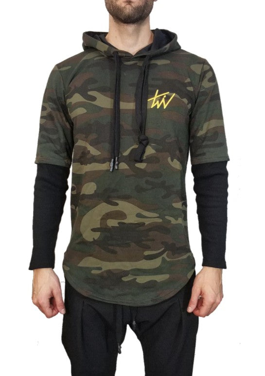 Twin Black Hoodie Army - Mybrands Store