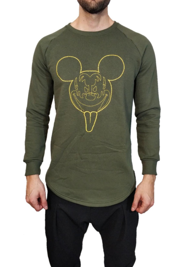 Twin Black Khaki Sweater Mickey - Mybrands Store