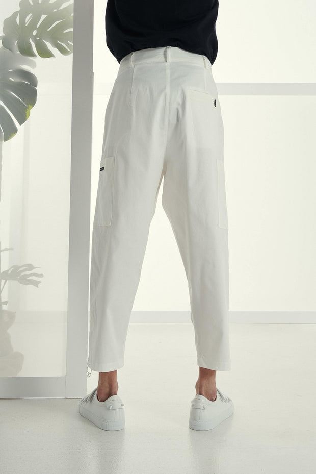 P/COC Cargo Fabric Pants Off White - Mybrands Store
