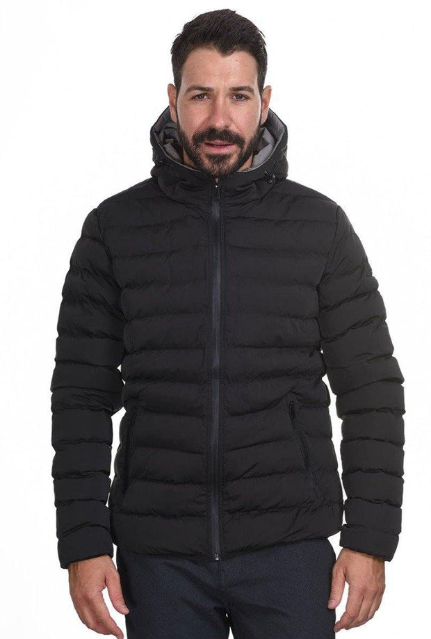Splendid Puffer Short Jacket Black - Mybrands Store