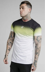 SikSilk High Fade Tee- Tri Neon-T-Shirts-Mybrands Store