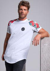 Vinyl T-Shirt Floral Sleeves - Mybrands Store