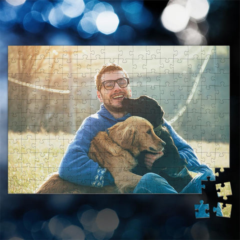 Custom Photo Jigsaw Puzzle Best Gifts For Pet Lover - 35-1000 pieces
