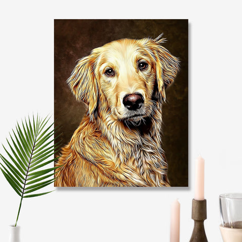 Personalized Home Decor for Livingroom 11*14in Wall Decor - Mocha
