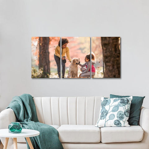 Custom Canvas Print Painting 3pcs Contemporary  Family Unique Gifts