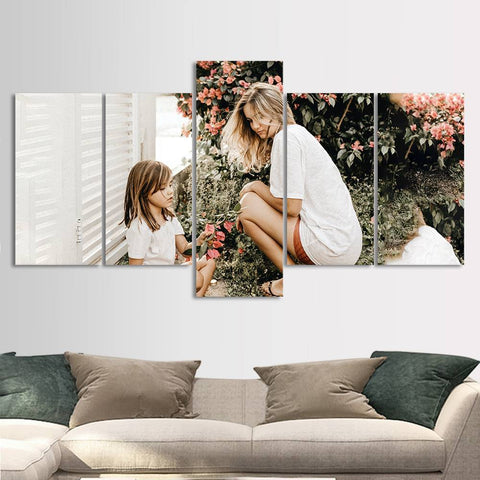 Personalized Painting 5pcs Contemporary Wall Art Set Home Decoration