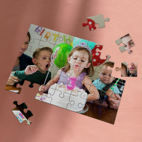 Custom Photo Jigsaw Puzzle Best Birthday Gifts 35-1000 pieces