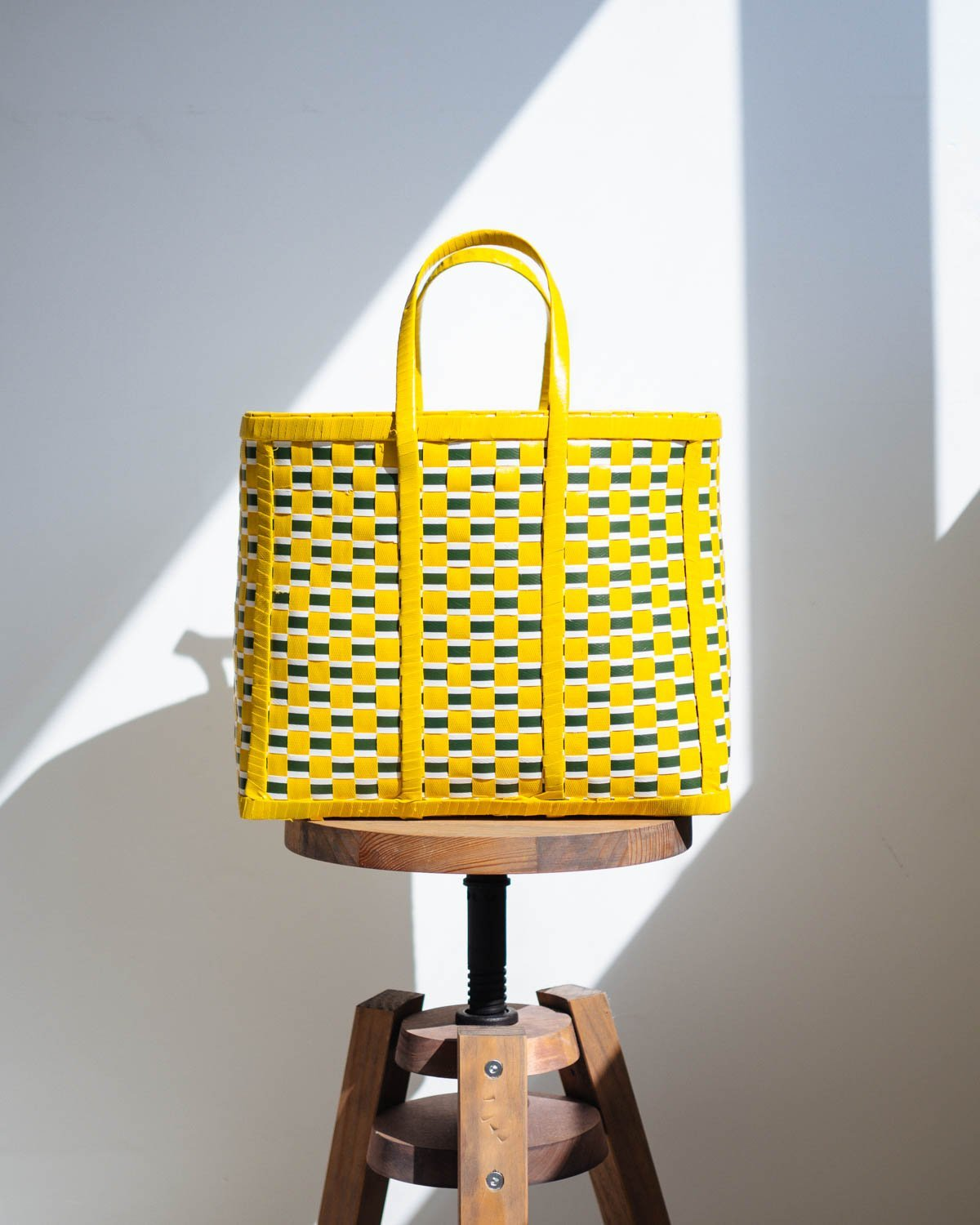 Anawa Yellow and Green Basket - YGN Collective
