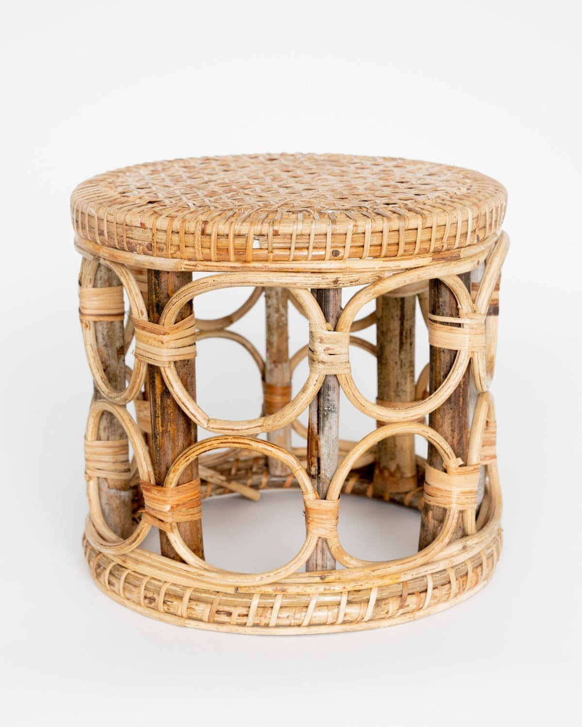 Bagan Cane Stool - YGN Collective