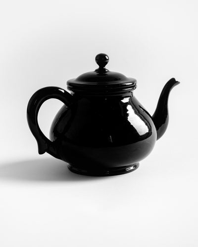 Myanmar Black Lacquer Tea Set - YGN Collective