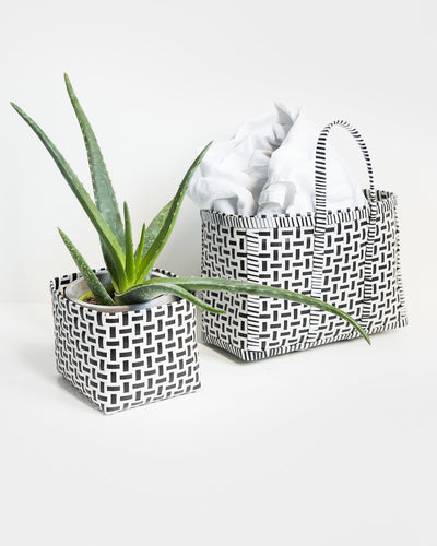Original Basket in Black & White - YGN Collective