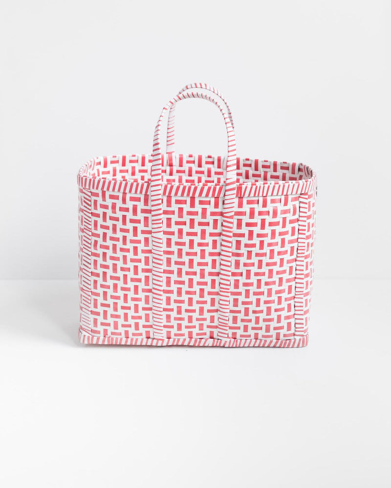 Original Basket in Red & White - YGN Collective