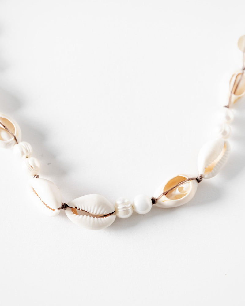Shell & Pearl Necklace - YGN Collective