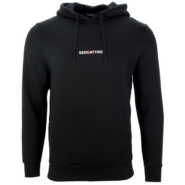 Archive Logo Pullover Hoodie Black