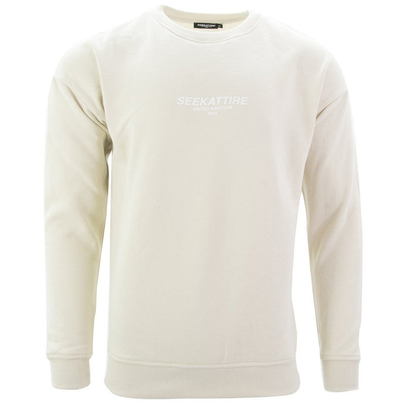 Authentic Logo Crewneck Sweatshirt Sand