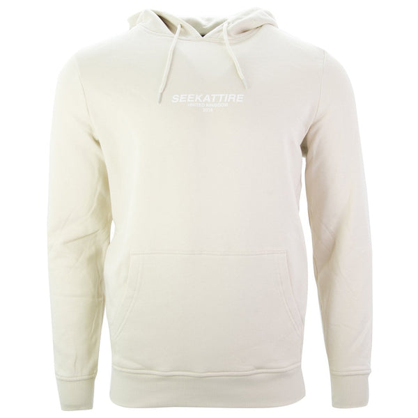 Authentic Logo Pullover Hoodie Sand