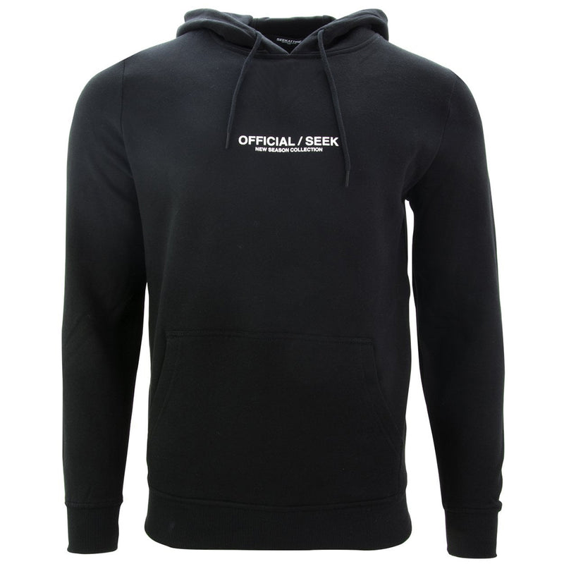Official SEEK Logo Pullover Hoodie Black