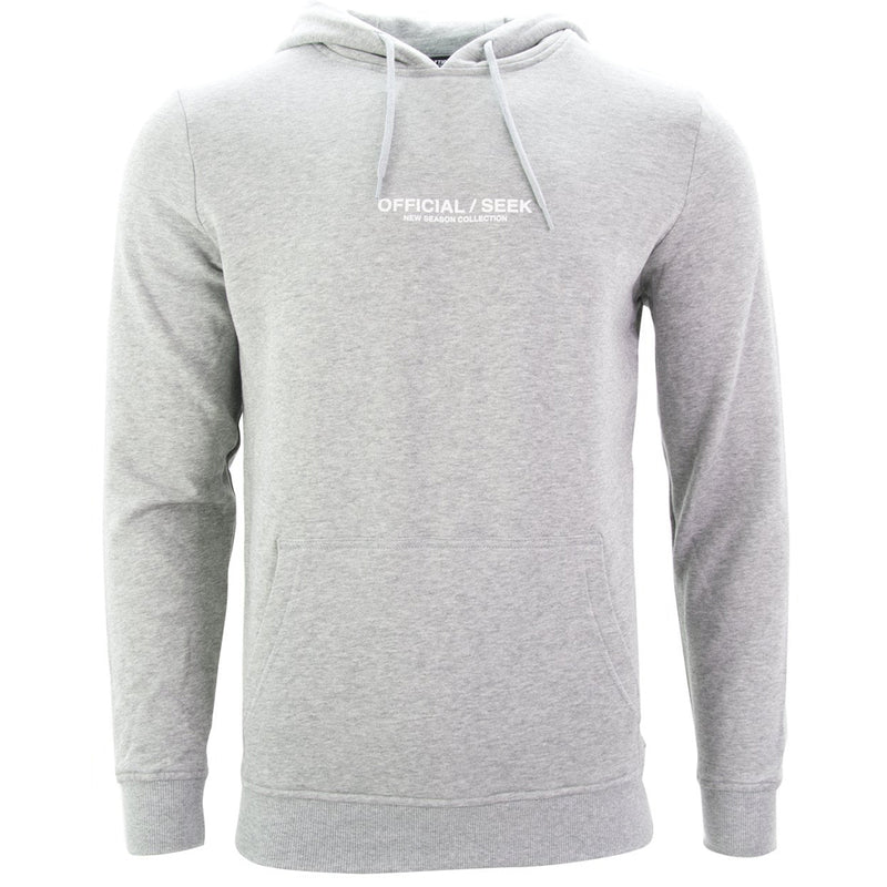 Official SEEK Logo Pullover Hoodie Grey