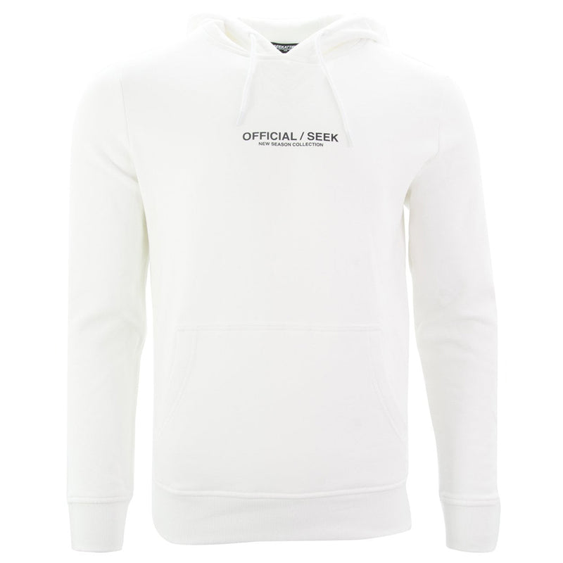 Official SEEK Logo Pullover Hoodie White