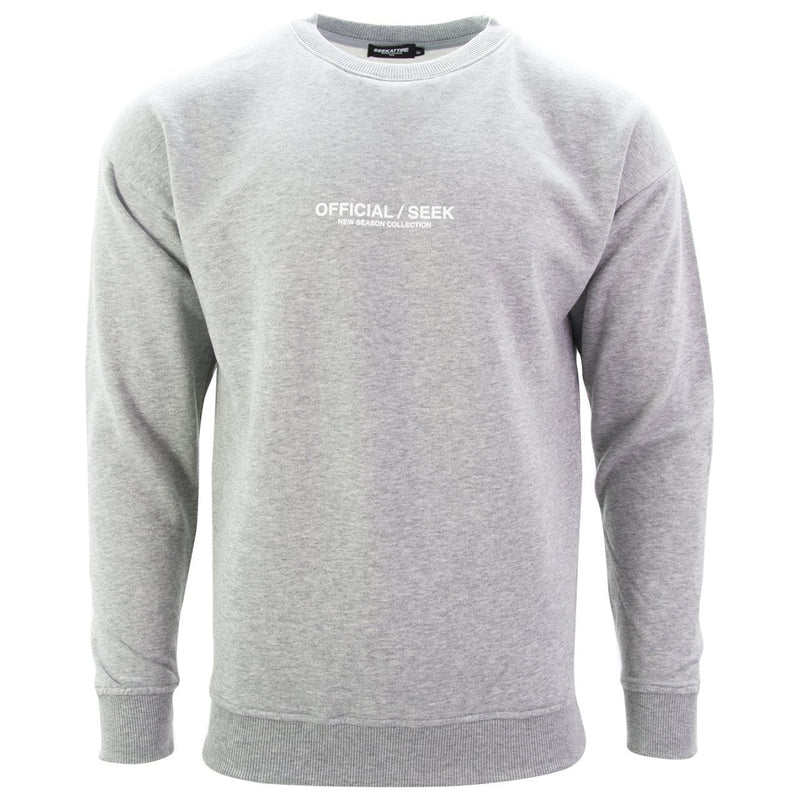 Official SEEK Logo Crewneck Sweatshirt Grey