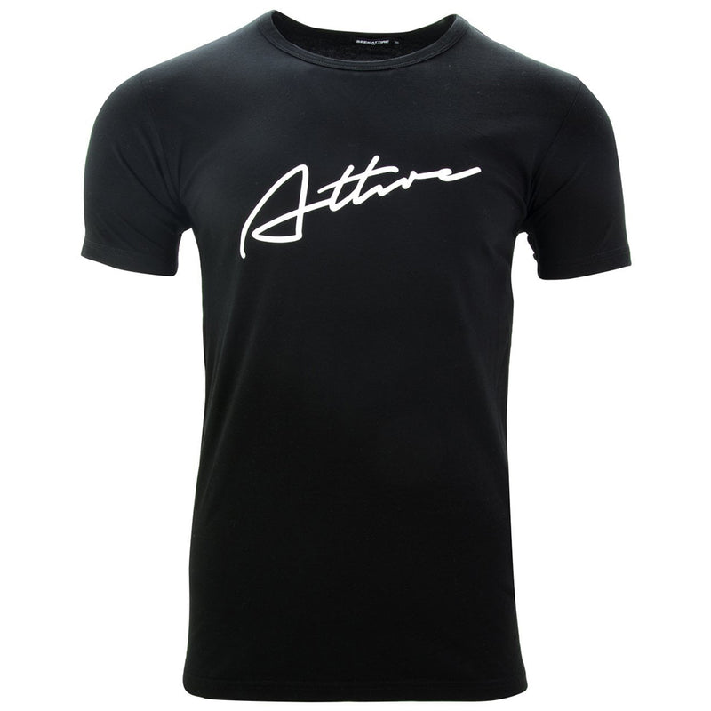 Signature Logo T-Shirt Black
