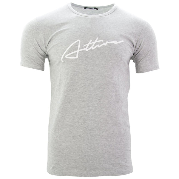 Signature Logo T-Shirt Grey