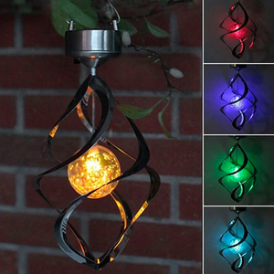 LED Color Changing Solar Light Wind Chime