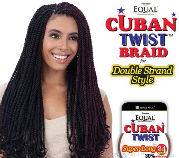 Equal Cuban Twist Hair