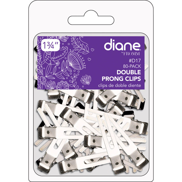 Diane Double Prong Clips
