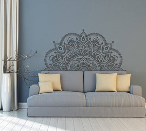 Mandala wall decal