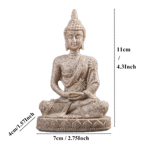 Buddha figure for zen garden