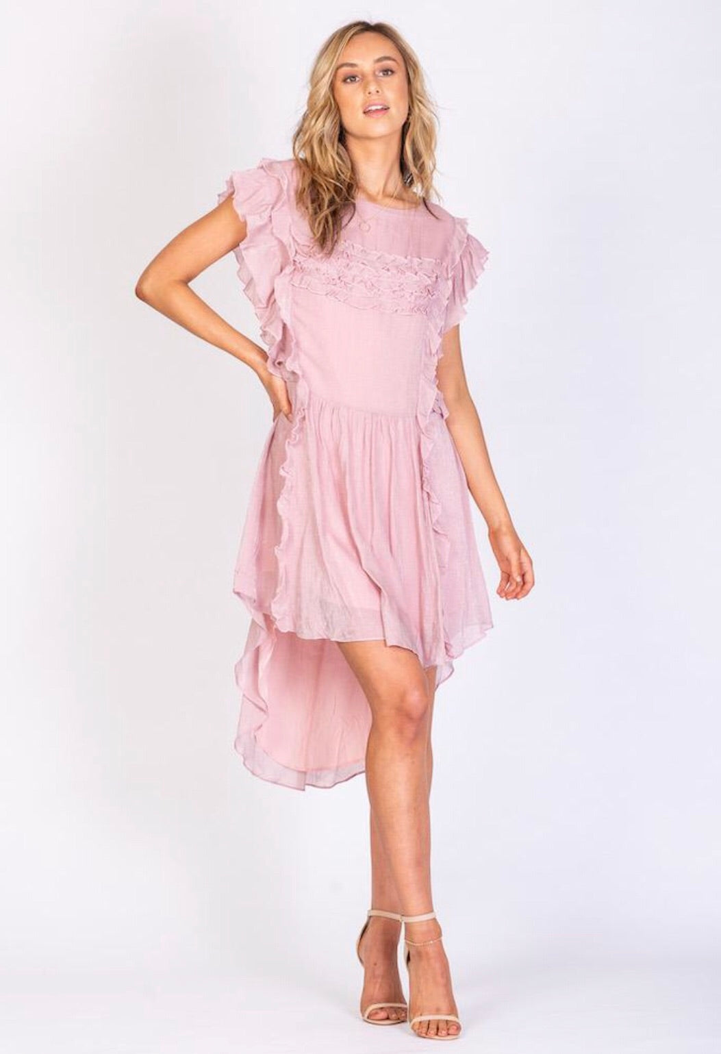 Good Vibrations Dress - Pink