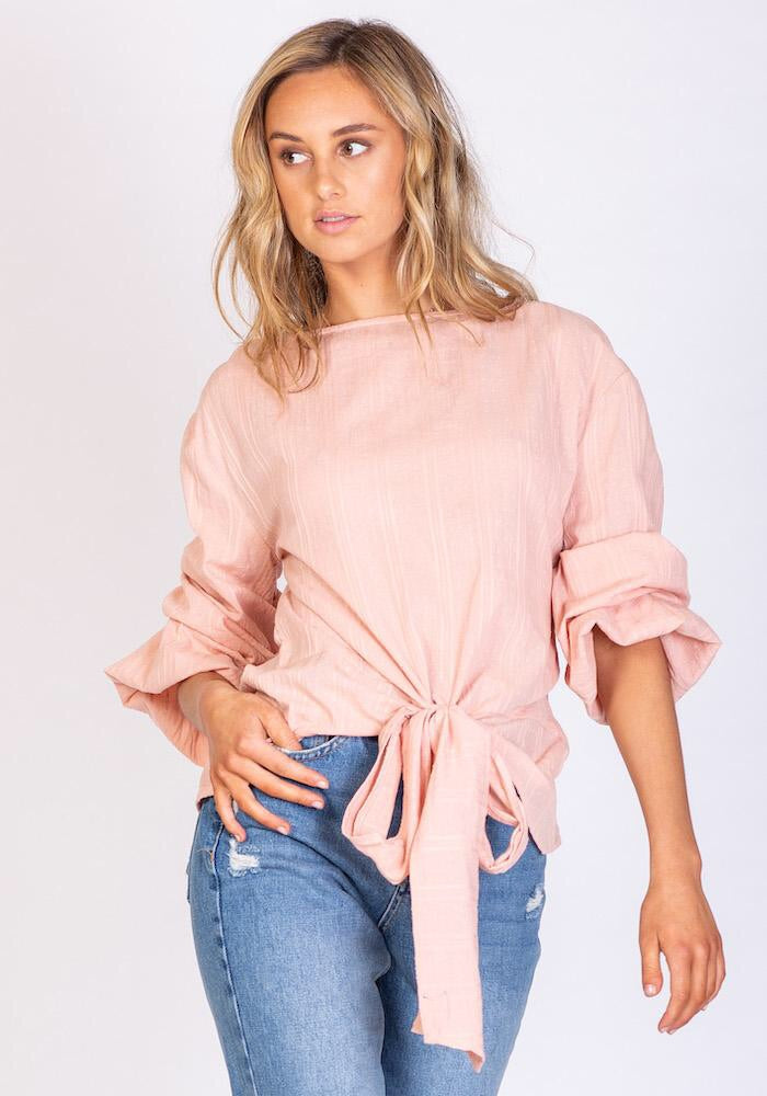 Venice Beach Blouse - Pink