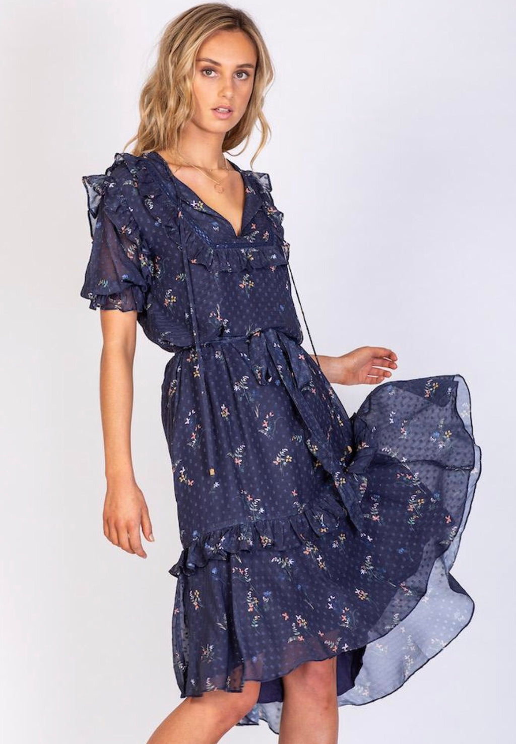 Summertime Blues Dress