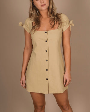 Milani Mini Dress - Tan