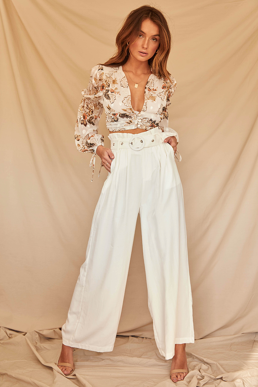 Dominica Pants - White