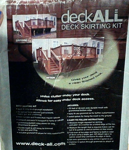Deck Skirting Kit - DeckAll