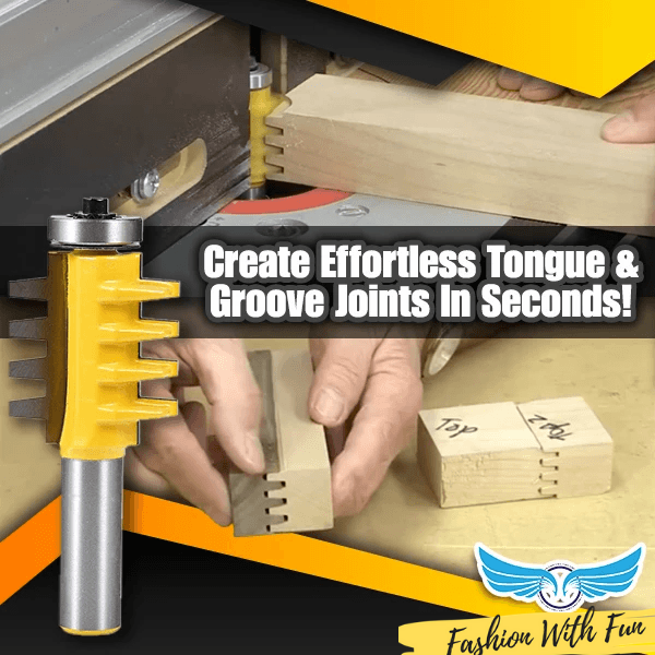 Tongue & Groove Milling Router Bit