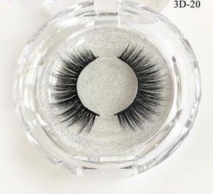 Natural Mink Eyelashes 3D Mink