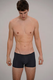 low-rise rib boxerbrief in black