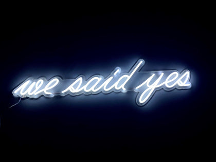Neon LED we said yes #NEONLookED - BuySam