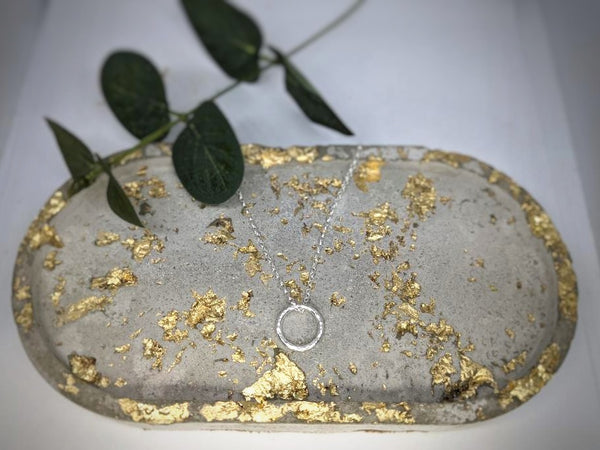 Concrete Notes  l  Jewellery Trinket Tray