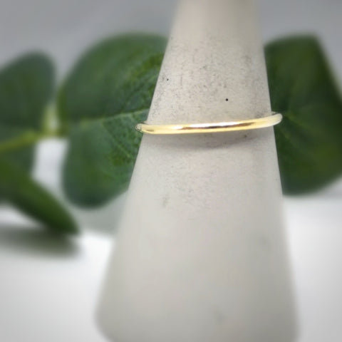 Stacking Ring  |  9ct Mini Simple