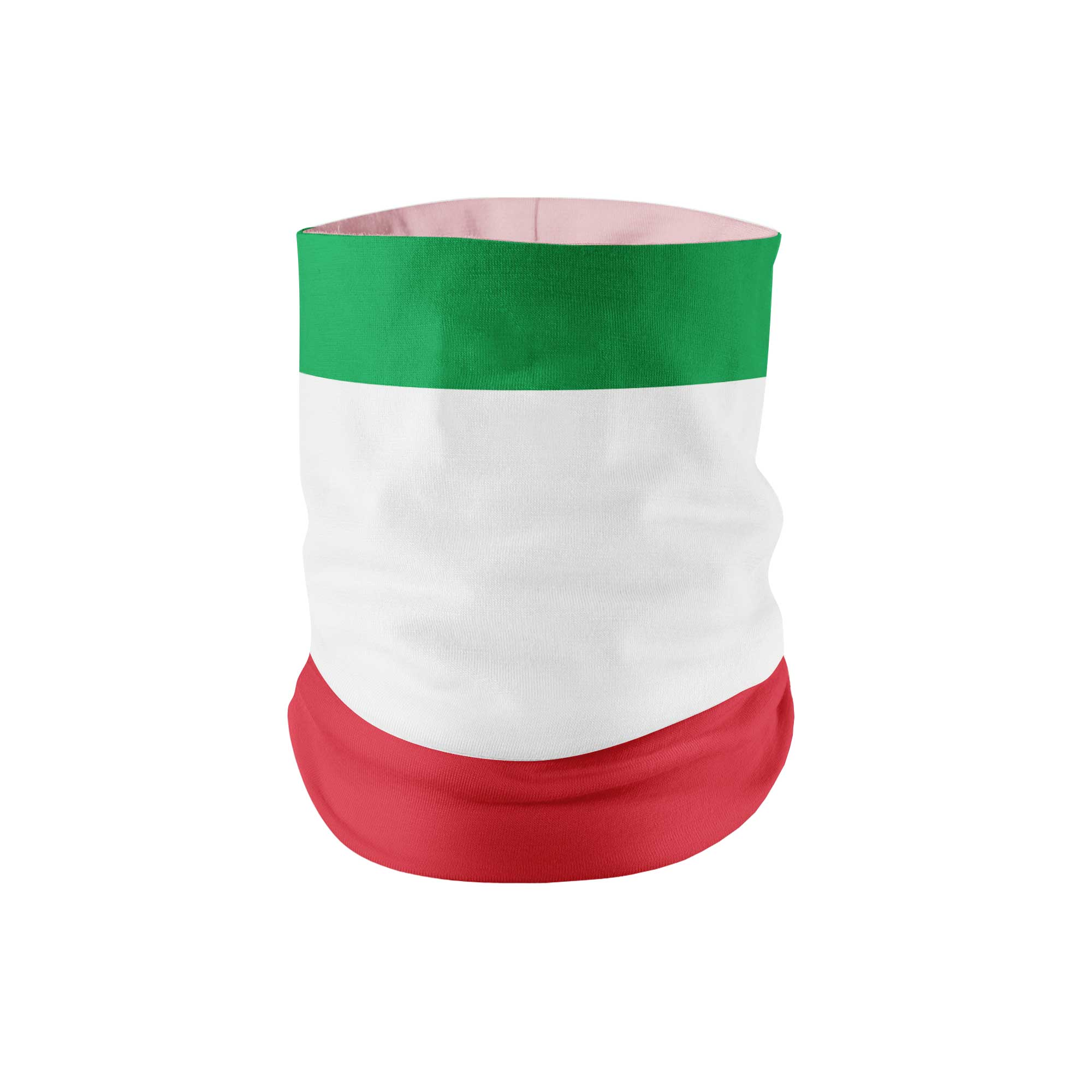 Italy Flag Neck Gaiter - My E Three