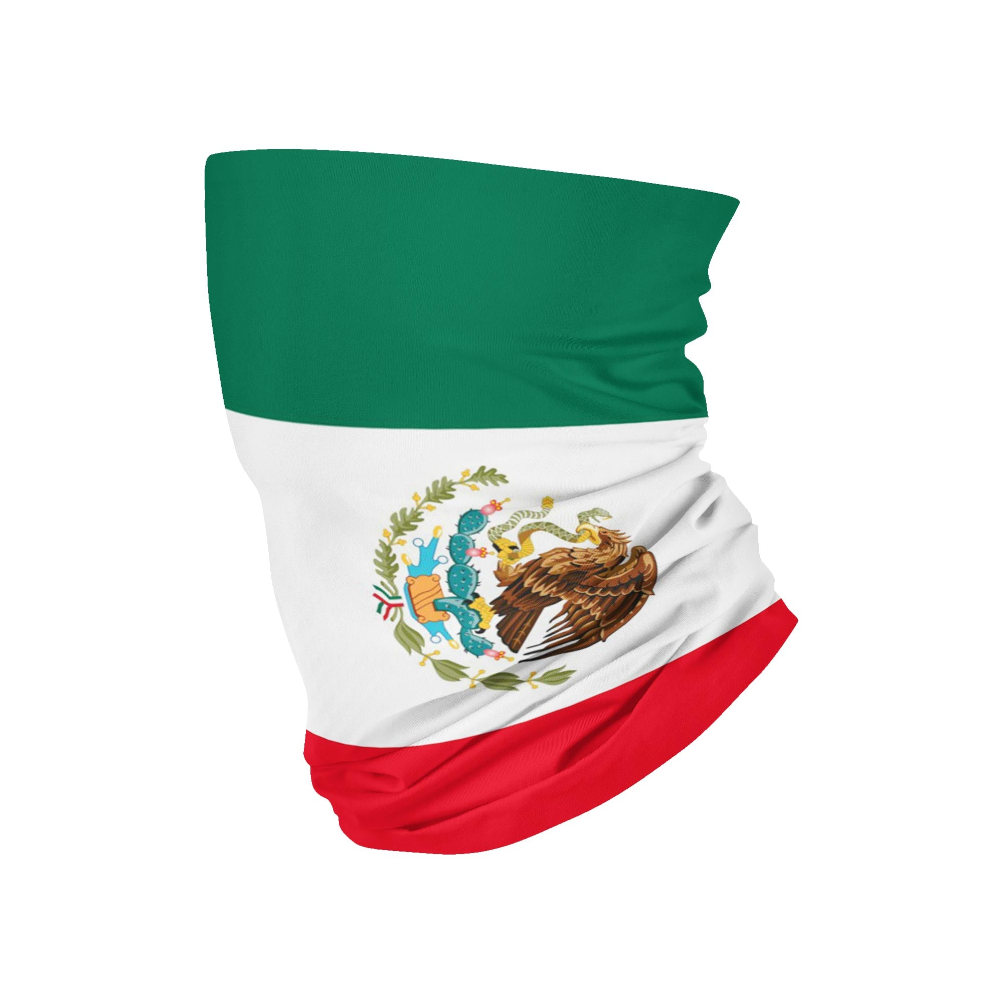 Mexico Flag Neck Gaiter - My E Three